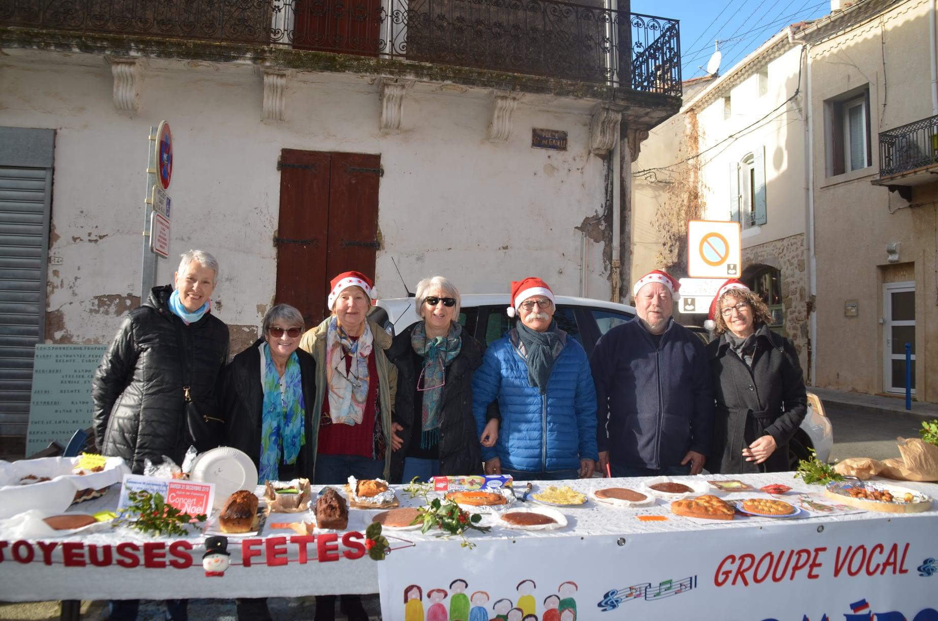 Marché de Noël Pomérols 15 12 2019