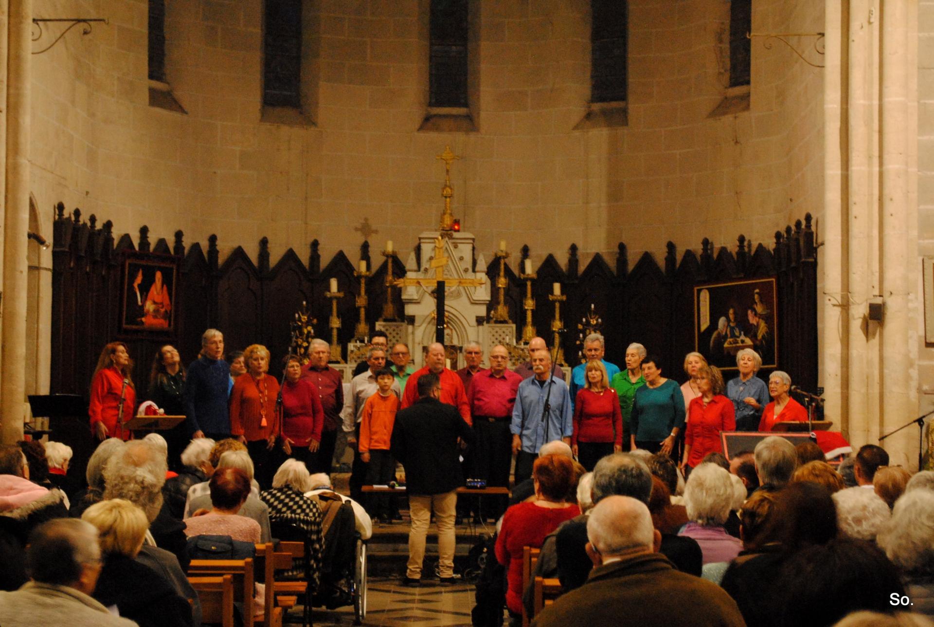 Concert de Noël Pinet 15 12 2019