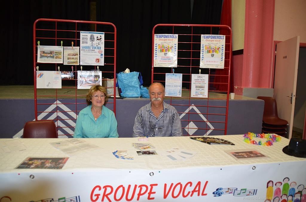 Stand TEMPOMEROLS au forum des associations
